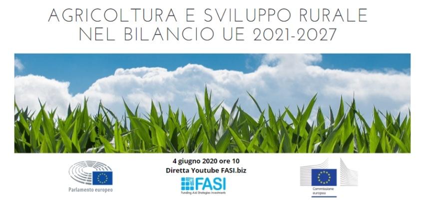 Agricoltura e sviluppo rurale nel bilancio UE 2021-2027