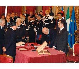 Giuramento Governo Prodi