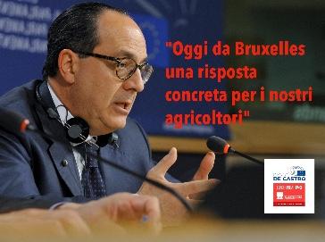 Via libera definitivo a oltre 400 milioni di liquidità ad agricoltori italiani