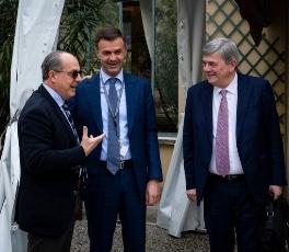 Con Ettore Prandini