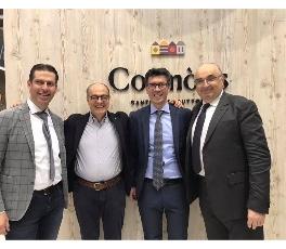 Confcooperative con Maurizio Gardini