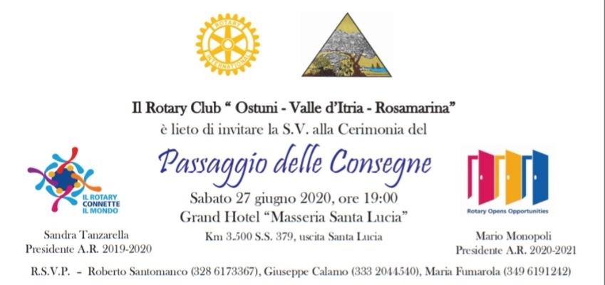 Il Rotary club Ostuni