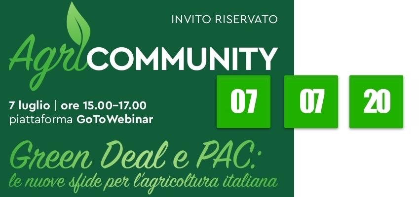 Green Deal e PAC: le nuove sfide per l'agricoltura italiana