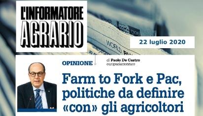 Farm To Fork e PAC, politiche da definire