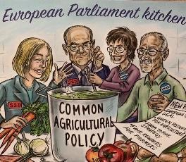 Chef in Parlamento Europeo si