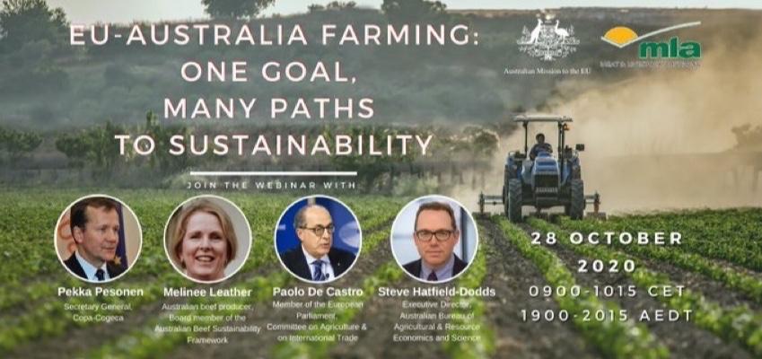 EU - Australia farming: one goal, many paths to sustainability