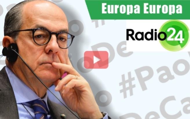 Il punto sulle novità PAC ai microfoni di Europa Europa