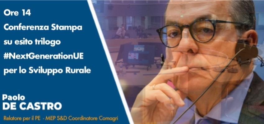 Conferenza stampa sull'accordo sugli aiuti al recupero di 8 miliardi di euro per agricoltori e produttori alimentari dell'UE
