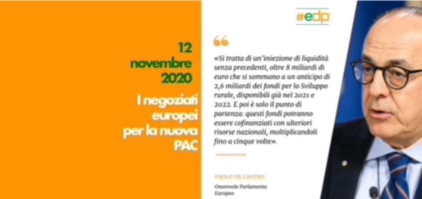 I negoziati europei per la nuova PAC - incontro con l'on. Paolo De Castro