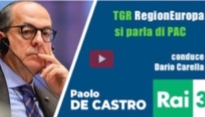 TGR RegionEuropa - aggiornamenti UE sulla PAC