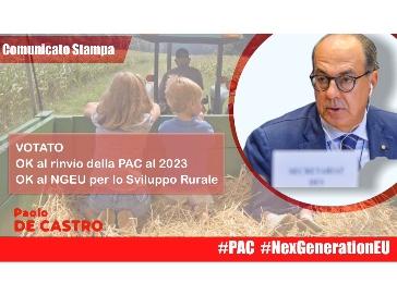 Politica agricola, De Castro: via libera a risorse straordinarie per 2021-2022