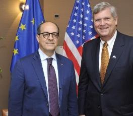 Incontro USA con Tom Vilsak - Dipartimento Agricoltura