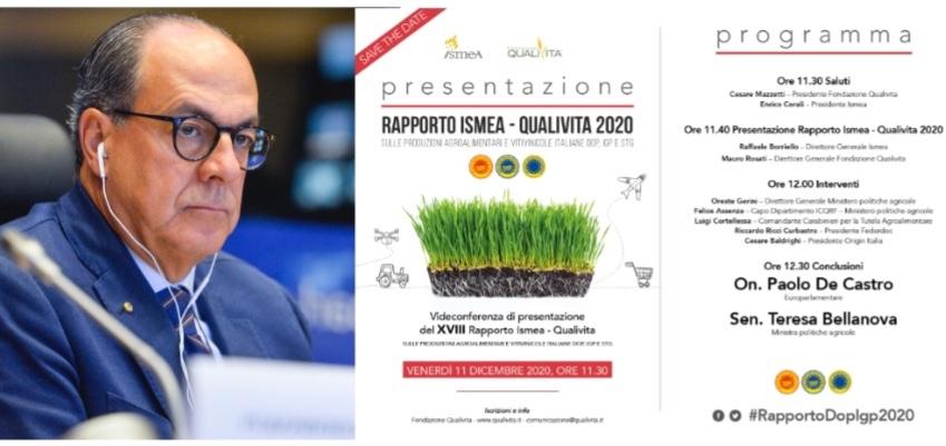 Presentazione ISMEA - QUALIVITA 2020
