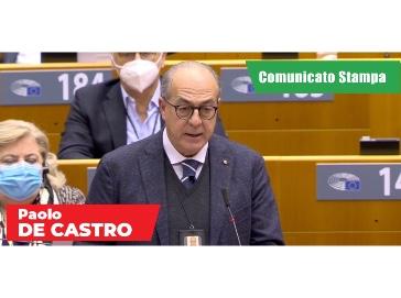 Riforma PAC: De Castro, pieno sostegno gruppo S&D ad accordo entro giugno