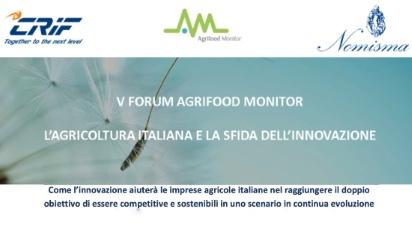 L'agricoltura italiana e la sfida dell'innovazione