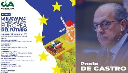 La nuova PAC, l'agricoltura europea del futuro