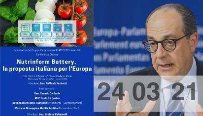 Nutrinform Battery, la proposta italiana per l'Europa