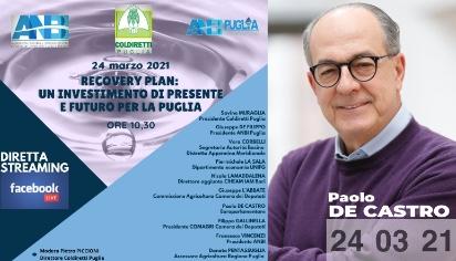 Recovery Plan: un investimento di presente e futuro per la Puglia