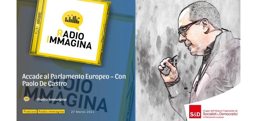 Paolo De Castro ai microfoni di Radio Immagina