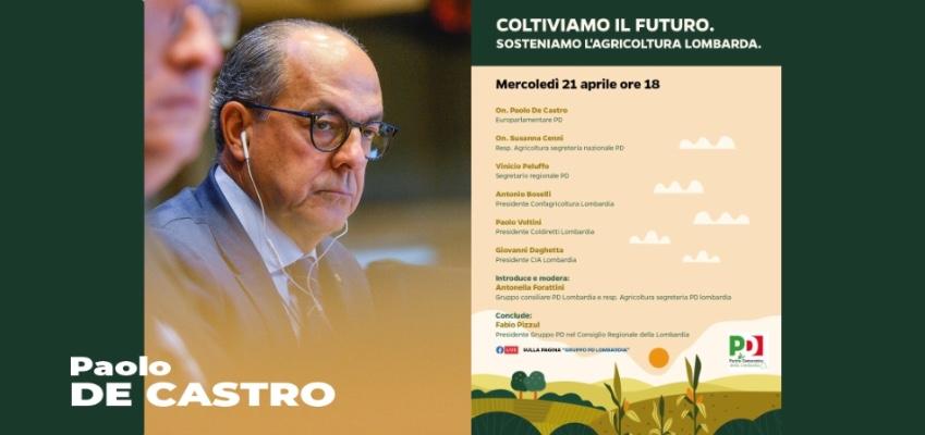 Coltiviamo il Futuro. Sosteniamo l'agricoltura lombarda
