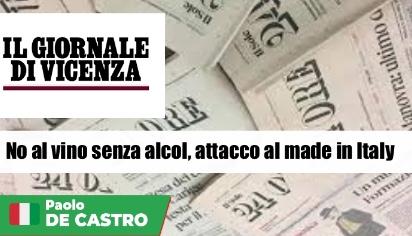 No al vino senza alcol, attacco al made in Italy
