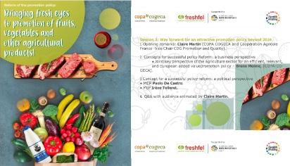 Dai un nuovo sguardo alla promozione di frutta, verdura e altro prodotti agricoli