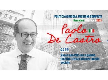 Politica Agricola, De Castro: Missione compiuta