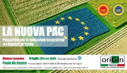 La nuova PAC. Propstettive per le Indicazioni Geografiche e i Consorzi di Tutela