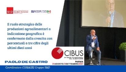 Cibus 2021 - Convegno sulle IG