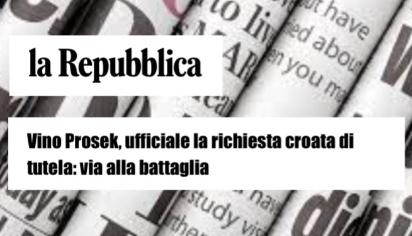 Vino Prosek, ufficiale la richiesta croata di tutela: via alla battaglia