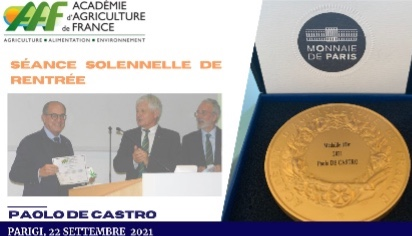 Cerimonia a Parigi, con il ministro francese Denormandie