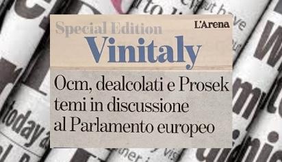 OCM, dealcolati e Prosek temi in discussione al Parlamento europeo