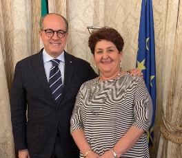 Roma, Ministro Agricoltura Teresa Bellanova