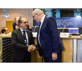 Bruxelles, 2014 con Hogan