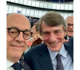 Bruxelles,2019 Sassoli e Gualtieri