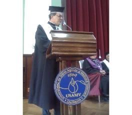 Laurea honoris causa in agraria e medicina veterinaria presso l'Università di Cluj-Napoca (RO)