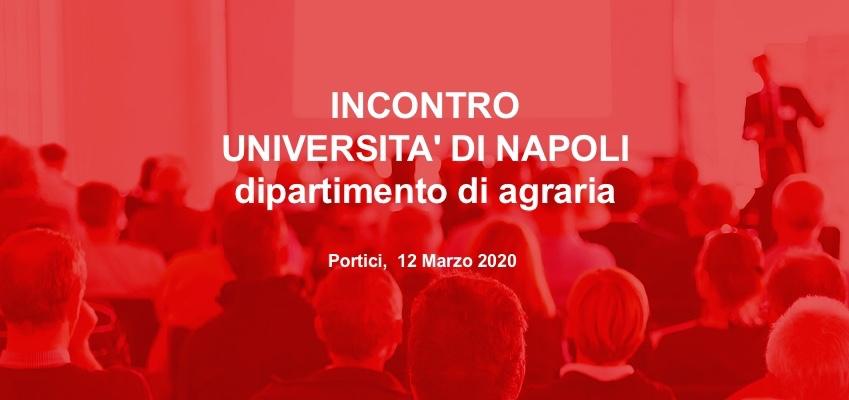 Incontro Università Napoli