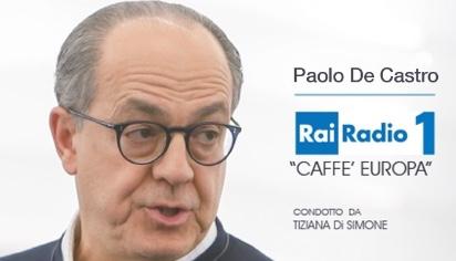 Intervista Caffè Europa - Rai Radio1
