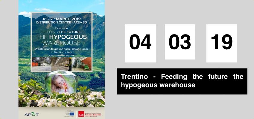 Exhibition feeding the future the hypogea's warehouse